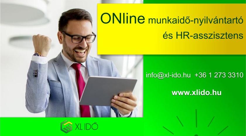 Online Munkaidő-Nyilvántartó és HR-asszisztens
